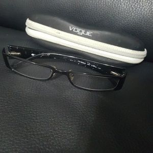 Vogue eyeglasses with case